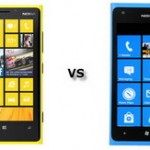 Nokia Lumia 900 vs Lumia 920