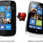 Nokia Lumia 610 vs Lumia 510