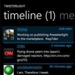 Обзор TweeterLight для Nokia Lumia