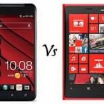 Nokia Lumia 920 vs HTC Butterfly