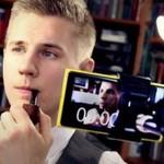 Съемка видео с помощью Nokia Lumia