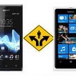 Nokia Lumia 620 vs Sony Xperia go