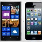 Nokia Lumia 925 против iPhone 5s